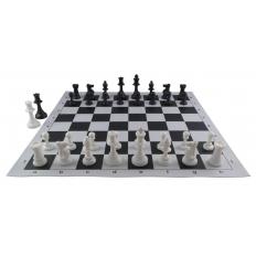 Schachspiel American [black-ivory]