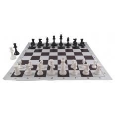 Schachspiel American [brown-ivory]