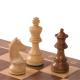 Turnier Schachspiel Nussbaum - 48cm