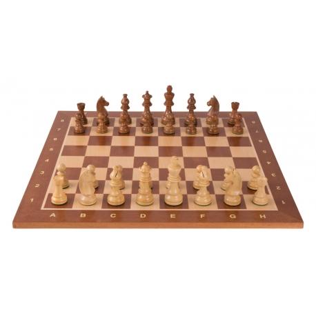 Turnier Schachspiel Mahagoni - 48cm