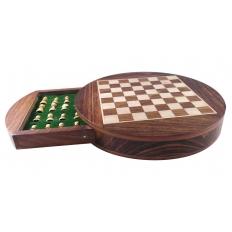 Schachkassette Rund [klein]