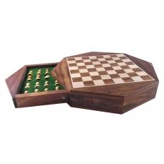 Schachkassette Octagon klein - 23.5cm