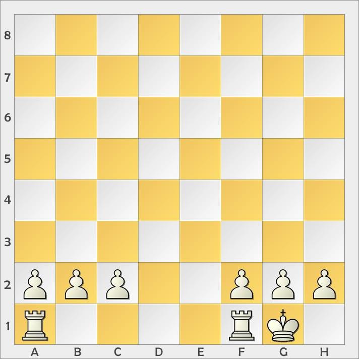 rochade nach schach