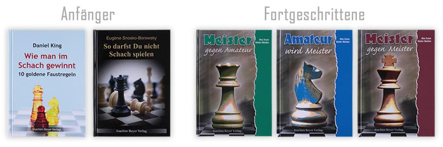 Exzellente Schachbücher für Anfänger und Fortgeschrittene