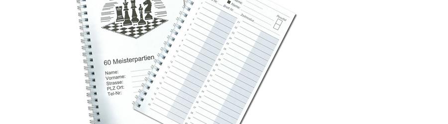 Partieformulare als praktischer Ringbuch
