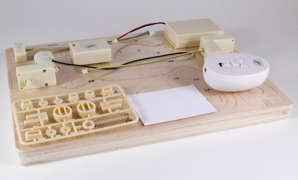3D Holzpuzzle Bausatz