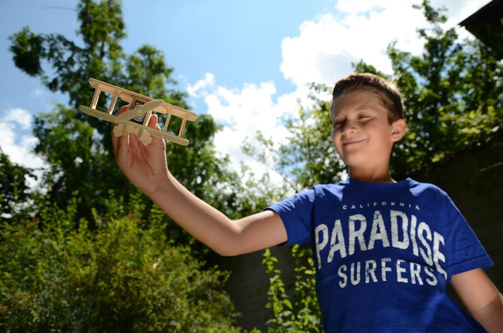 Solar 3D Holzpuzzle