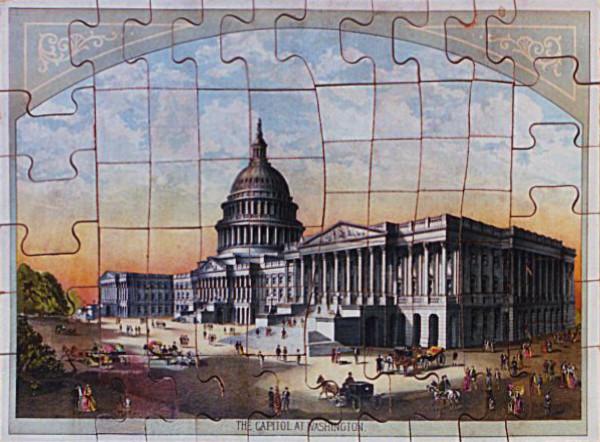Kapitol Washington Puzzle