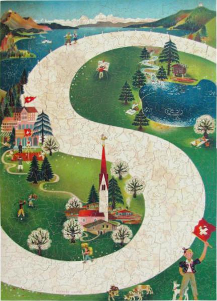 Fahr in die Schweiz - Puzzle