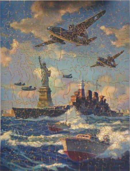 Militärmotiv während dem Zweiten Weltkrieg