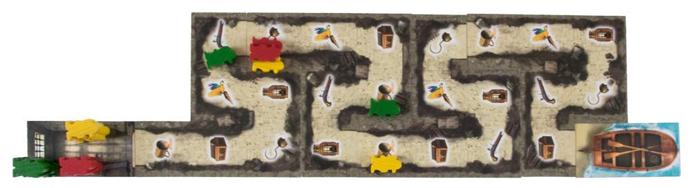 Cartagena Spielfläche